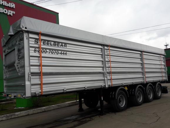Полуприцепы зерновозы PF-41B STEELBEAR – лидеры продаж!